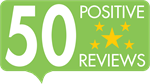 50 Positive Reviews