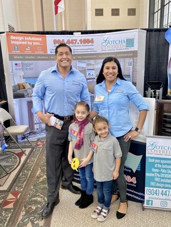 Dorian and Ana Landazuri with two children