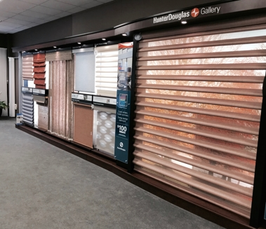 Raleigh blinds showroom