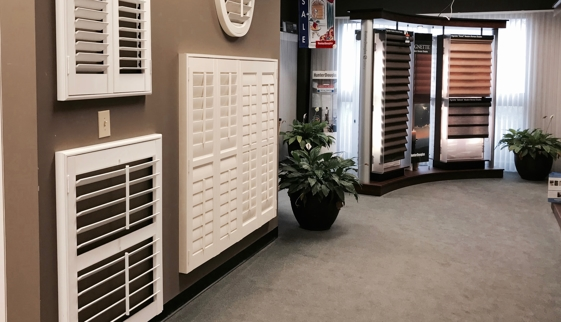 Shutters and shades Raleigh showroom