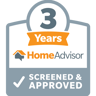 HomeAdvisor 3 years super service award
