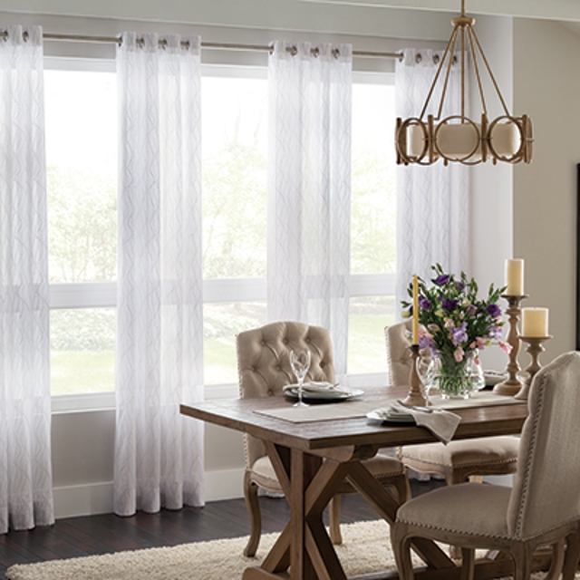 Dining Room Window Treatments