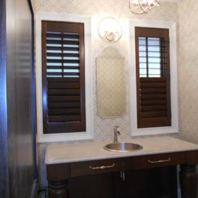 Shutters add value to your home and most are warrantied for as long as you live in your home.  Besides providing flexible light control, shutters help control heat loss in cooler months. Consider beautifying your home with custom shutters.