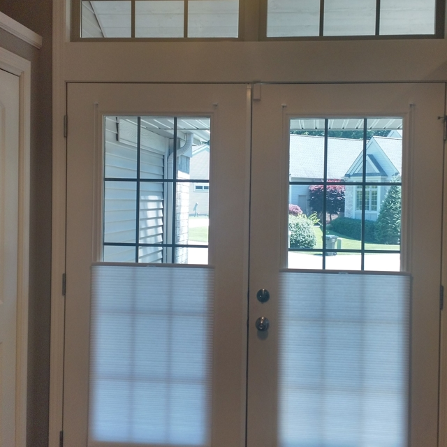 SmartFit shades perfect for French doors