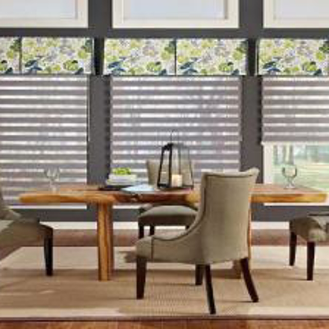Gotcha Covered blinds in dining room