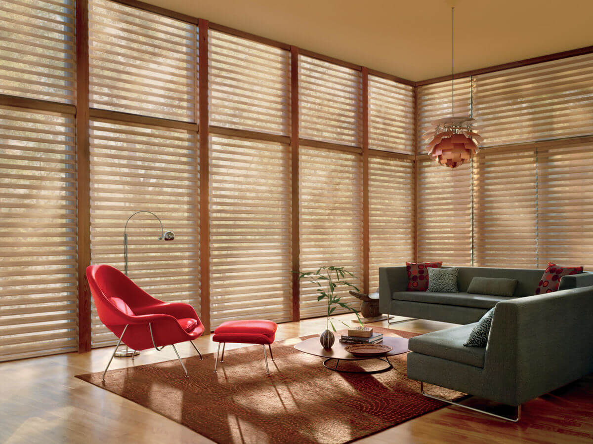 Sheer blinds offer a perfect balance of beauty and functionality since they are designed to allow soft, filtered light to stream into the room while still providing a level of privacy,