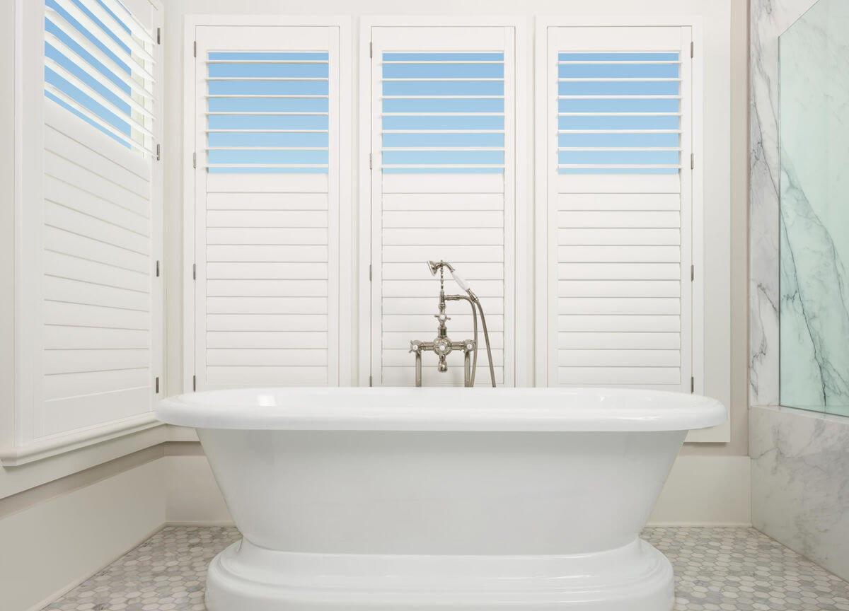 "Shutters can also have a split control called a ""split tilt"" which allows the top section to operate independently from the bottom."
