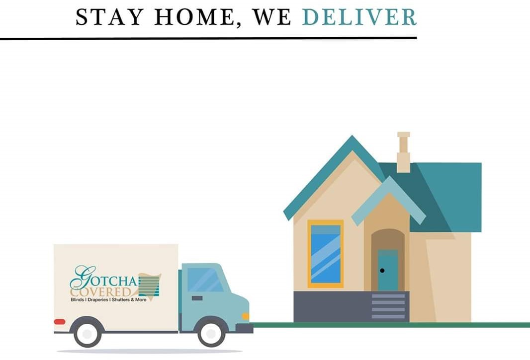 Stay Home, We Deliver
