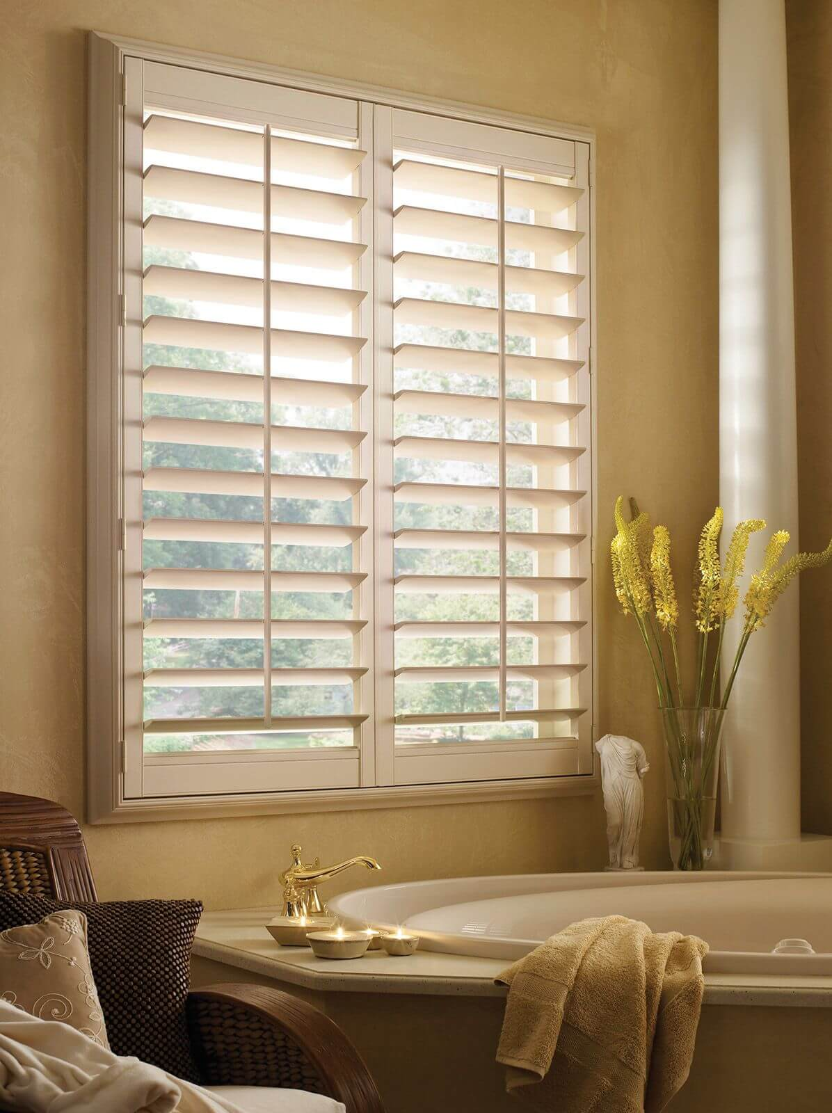 Cleaning methods for your shutters will differ depending on the material of the window treatment.
