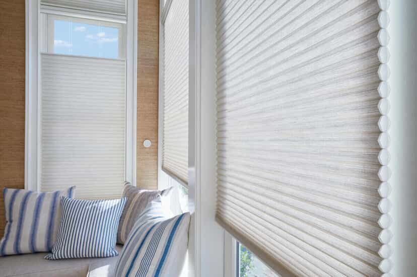 Motorized window treatments that use a connected home system can increase the energy efficiency in your home.