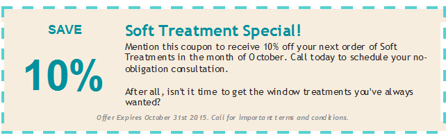 October 2015 Soft Treatment coupon