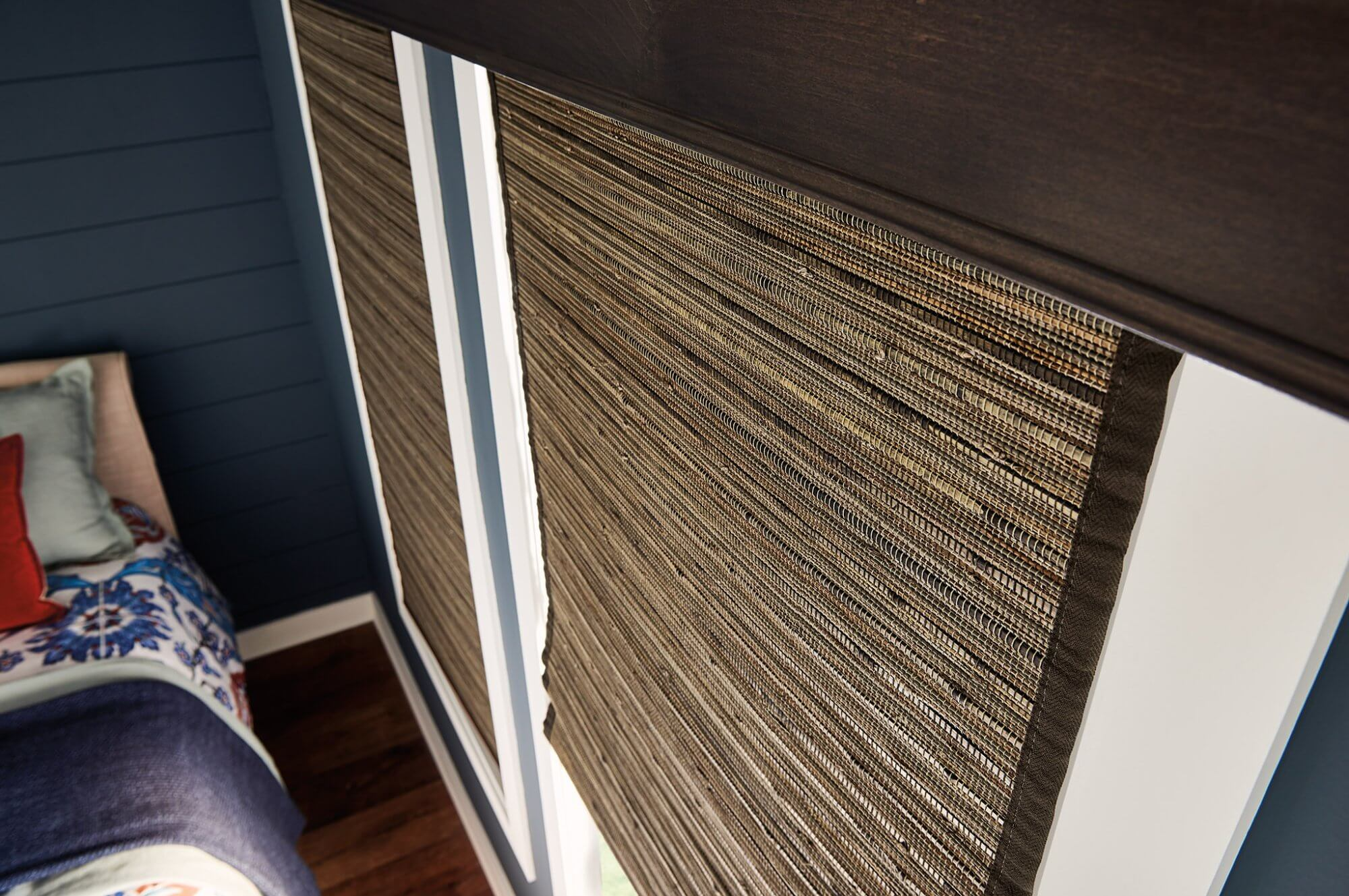 Natural fibers and eco-friendly materials will continue to be a popular choice for 2021 in interior design and window treatments.