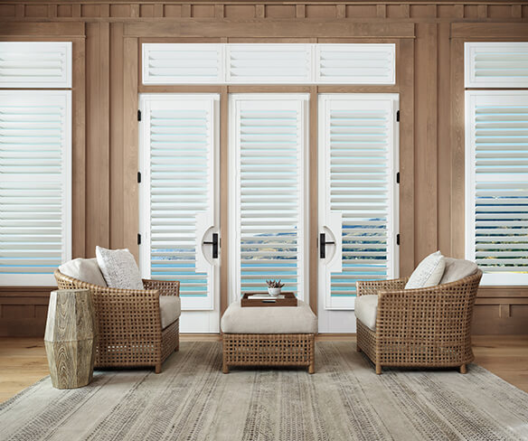 white shutters for coastal design