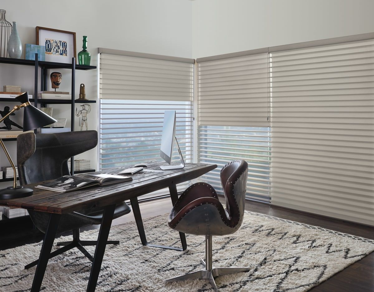 choose home office. Selecting The Perfect Window Treatment For Your Home Office Will Help Make Work Day More Comfortable And Enjoyable. Choose M