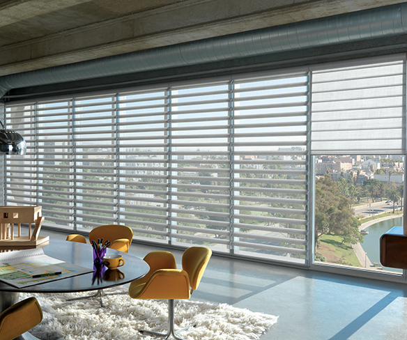 living room shades. Industrial Urban Living room shades Room  Gotcha Covered