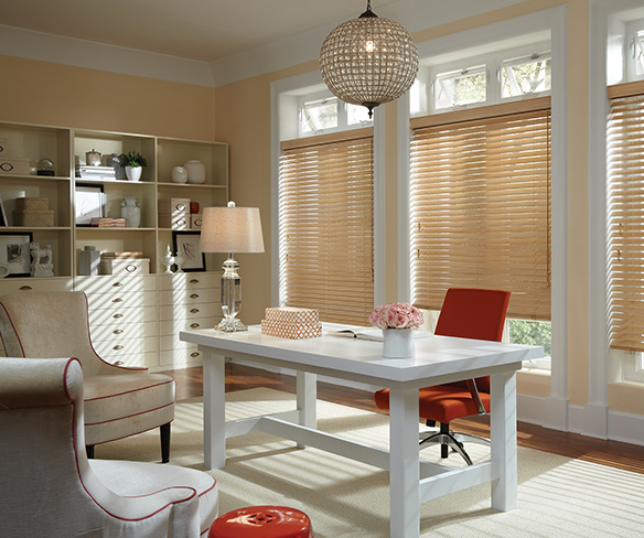 blinds for a living space